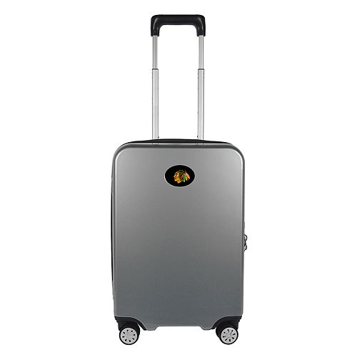 Chicago Blackhawks 22-Inch Hardside Wheeled Carry-On with Charging Port