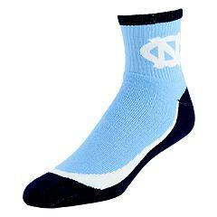 Men's North Carolina Tar Heels Grip the Turf Quarter-Crew Socks