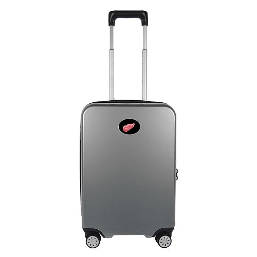 Detroit Red Wings 22-Inch Hardside Wheeled Carry-On with Charging Port