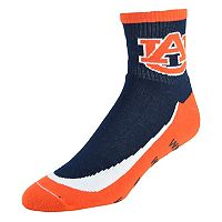 Men's Auburn Tigers Grip the Turf Quarter-Crew Socks