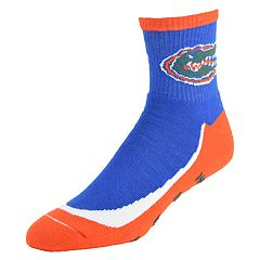 Men's Florida Gators Grip the Turf Quarter-Crew Socks