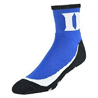 Men's Duke Blue Devils Grip the Turf Quarter-Crew Socks
