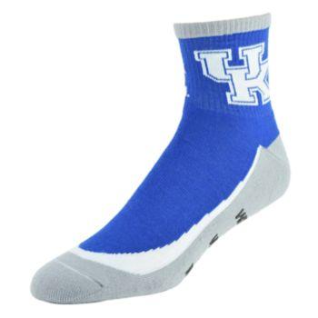 Men's Kentucky Wildcats Grip the Turf Quarter-Crew Socks