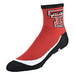 Men's Texas Tech Red Raiders Grip the Turf Quarter-Crew Socks
