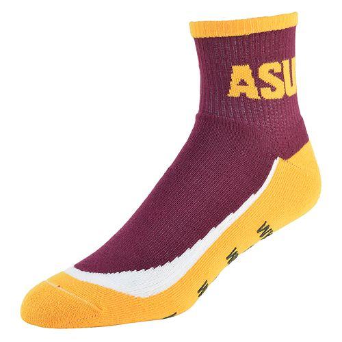 Men's Arizona State Sun Devils Grip the Turf Quarter-Crew Socks