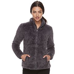 Women's FILA SPORT® Sherpa Fleece Zip-Up Jacket