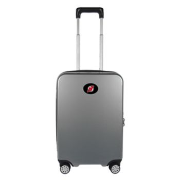 New Jersey Devils 22-Inch Hardside Wheeled Carry-On with Charging Port
