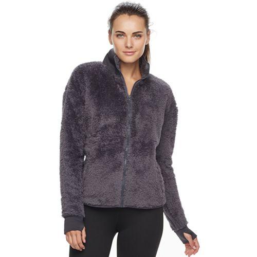 ccc04aca Women's FILA SPORT® Fuzzy Fleece Zip-Up Jacket