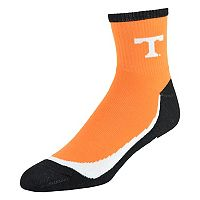 Men's Tennessee Volunteers Grip the Turf Quarter-Crew Socks
