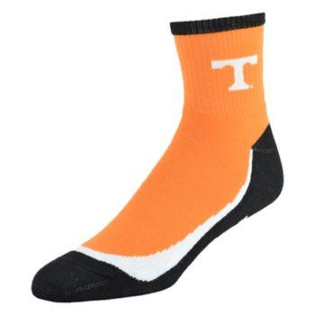 Men's Tennessee Volunteers Grip the Turf Quarter-Crew Socks