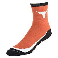 Men's Texas Longhorns Grip the Turf Quarter-Crew Socks