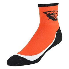 Men's Oregon State Beavers Grip the Turf Quarter-Crew Socks