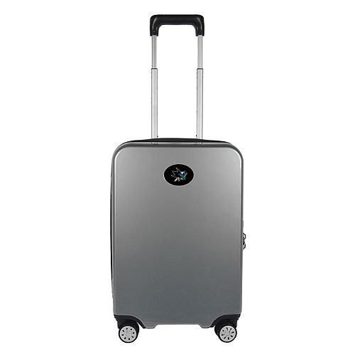 San Jose Sharks 22-Inch Hardside Wheeled Carry-On with Charging Port