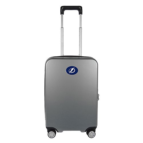 Tampa Bay Lightning 22-Inch Hardside Wheeled Carry-On with Charging Port