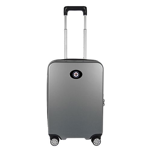 Winnipeg Jets 22-Inch Hardside Wheeled Carry-On with Charging Port