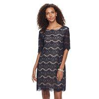 Women's Nina Leonard Lace Dress