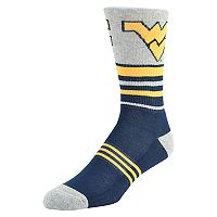 Men's Mojo West Virginia Mountaineers Walk the Line Crew Socks