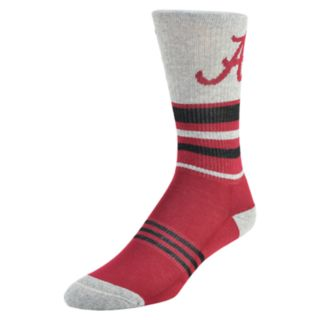 Men's Mojo Alabama Crimson Tide Walk the Line Crew Socks