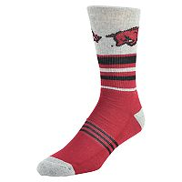 Men's Mojo Arkansas Razorbacks Walk the Line Crew Socks