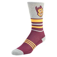 Men's Mojo Arizona State Sun Devils Walk the Line Crew Socks