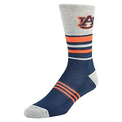 Men's Mojo Auburn Tigers Walk the Line Crew Socks