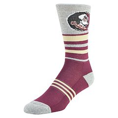 Men's Mojo Florida State Seminoles Walk the Line Crew Socks