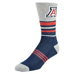 Men's Mojo Arizona Wildcats Walk the Line Crew Socks