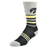 Men's Mojo Iowa Hawkeyes Walk the Line Crew Socks