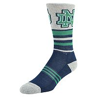 Men's Mojo Notre Dame Fighting Irish Walk the Line Crew Socks