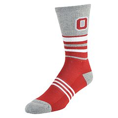 Men's Mojo Ohio State Buckeyes Walk the Line Crew Socks