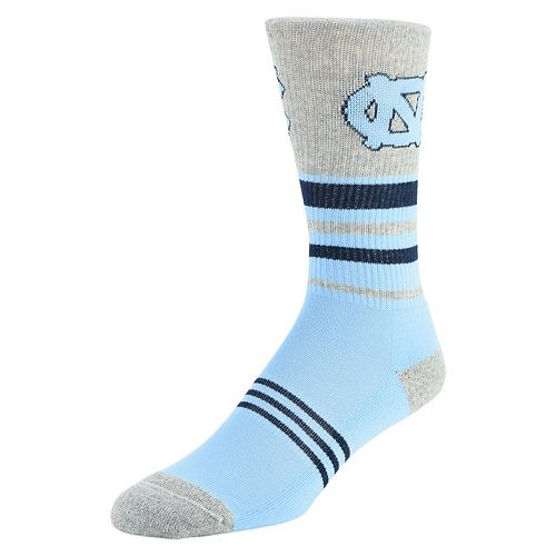 Men's Mojo North Carolina Tar Heels Walk the Line Crew Socks