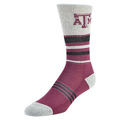 Women's Mojo Texas A&M Aggies Walk the Line Crew Socks