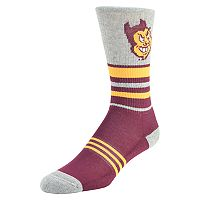 Women's Mojo Arizona State Sun Devils Walk the Line Crew Socks