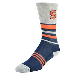Women's Mojo Syracuse Orange Walk the Line Crew Socks