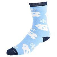 Women's North Carolina Tar Heels Snow Dayz Crew Socks