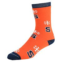 Women's Syracuse Orange Snow Dayz Crew Socks