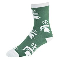 Women's Michigan State Spartans Snow Dayz Crew Socks