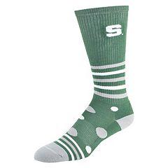 Women's Michigan State Spartans Razzle Knee-High Socks