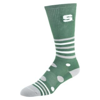 Women's Michigan State Spartans Razzle Knee-High Socks