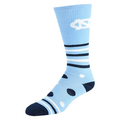 Women's North Carolina Tar Heels Razzle Knee-High Socks