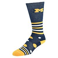 Women's Michigan Wolverines Razzle Knee-High Socks