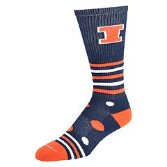 Women's Illinois Fighting Illini Razzle Knee-High Socks