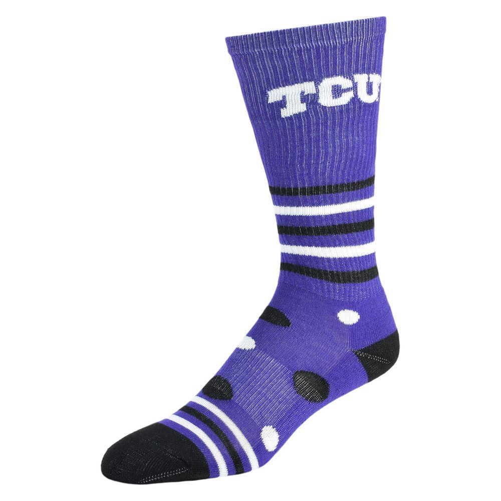 e45e24633 Women s TCU Horned Frogs Razzle Knee-High Socks