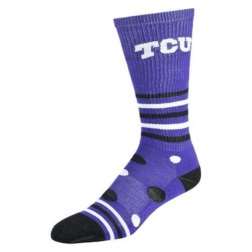 Women's TCU Horned Frogs Razzle Knee-High Socks