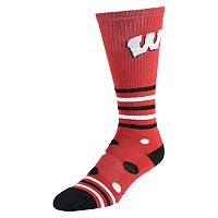 Women's Wisconsin Badgers Razzle Knee-High Socks