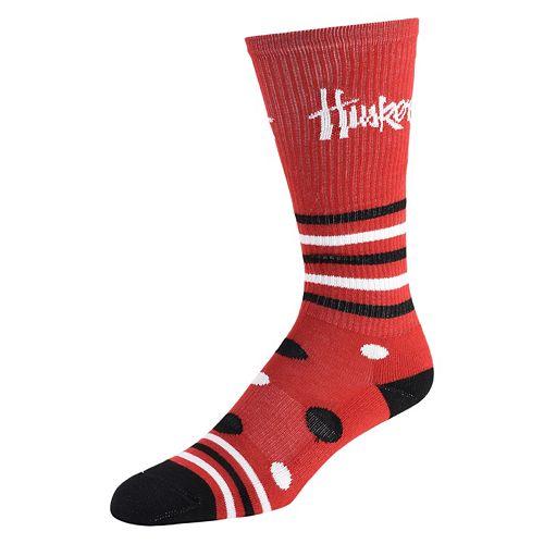 Women's Nebraska Cornhuskers Razzle Knee-High Socks