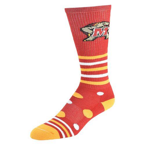 Women's Maryland Terrapins Razzle Knee-High Socks