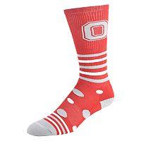Women's Ohio State Buckeyes Razzle Knee-High Socks