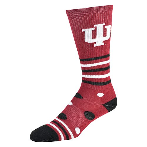 Women's Indiana Hoosiers Razzle Knee-High Socks