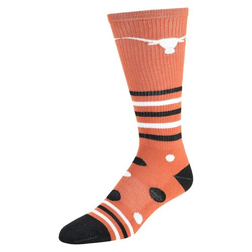 Women's Texas Longhorns Razzle Knee-High Socks